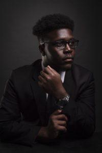 man, suit, black male