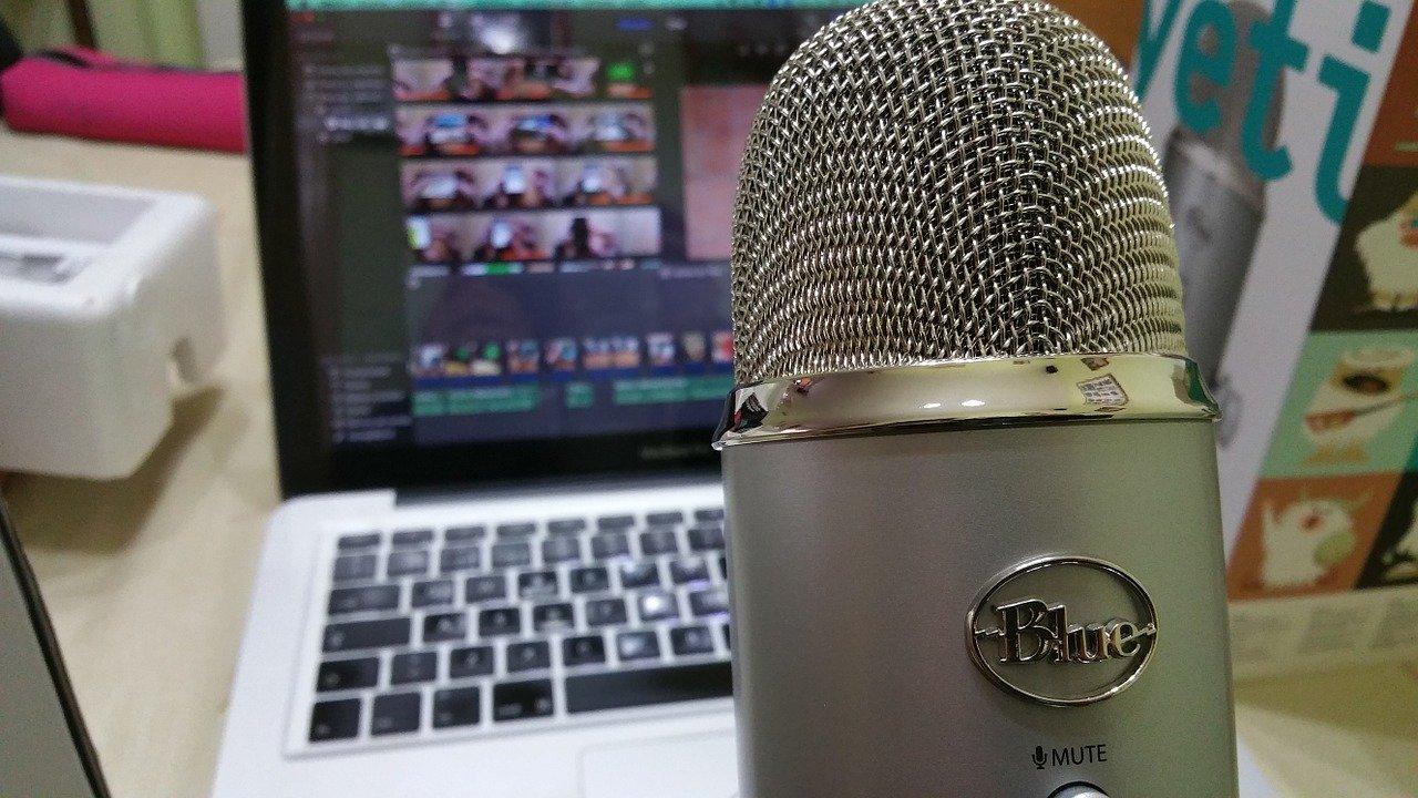 microphone, audio, radio